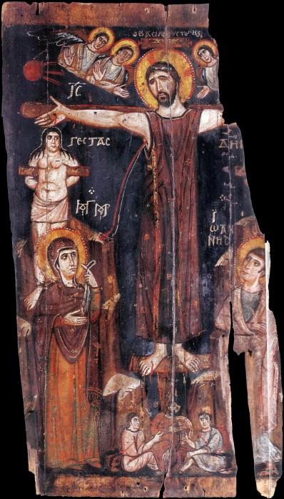 Великая Пятница. Распятие, VIII в, Синай