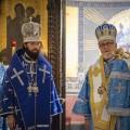 Престольный праздник в Александро-Невском соборе в Париже